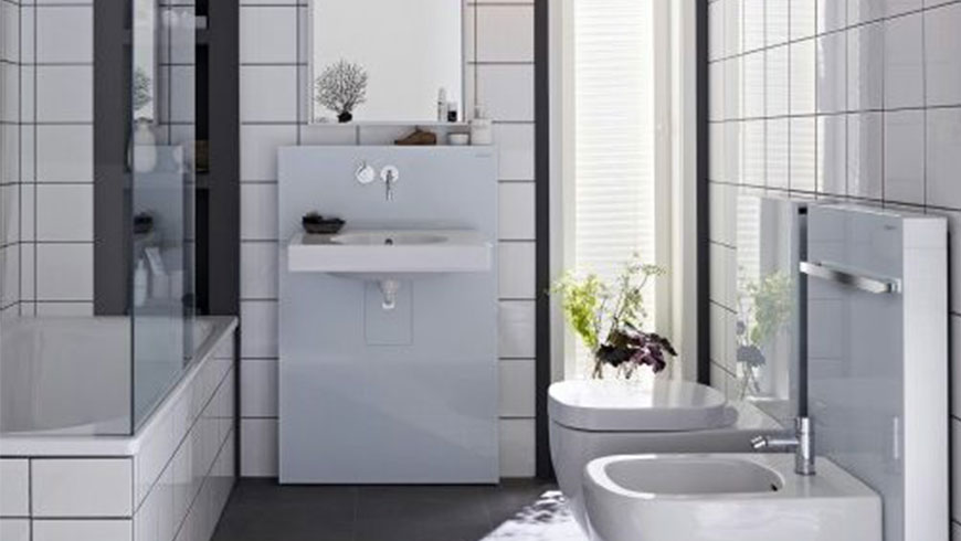 Flo wc monoblocco scarico universale cm iperceramica