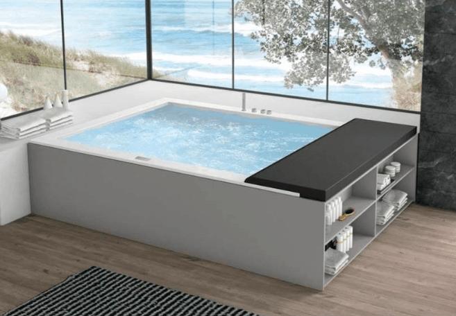 Vasca Da Bagno Hafro : Una minipiscina a casa tua adesso è possibile con hafro geromin